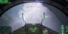 《皇牌空战7》暴雨天空战演示 雷电交加中的刺激狗斗