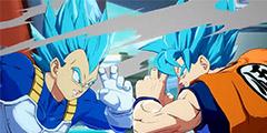 《龙珠格斗Z》火力全开影片 悟空变身蓝发超级赛亚人