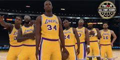 NBA2K18三十支历史球队阵容名单公布 并没有大将军