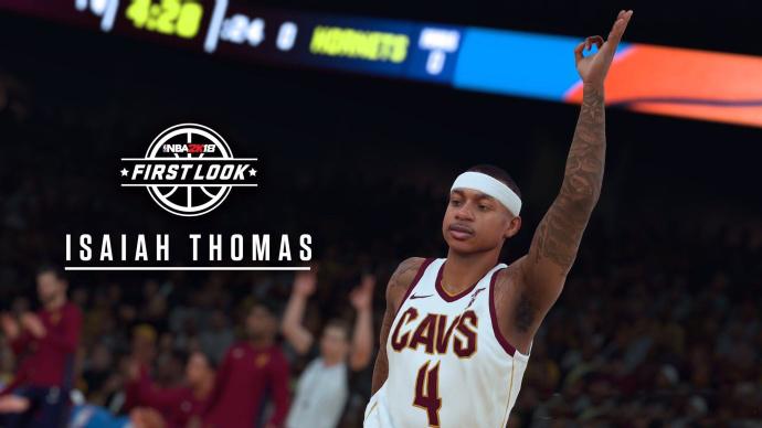 NBA2K18骑士队最新成员小刺客小托马斯造型公布