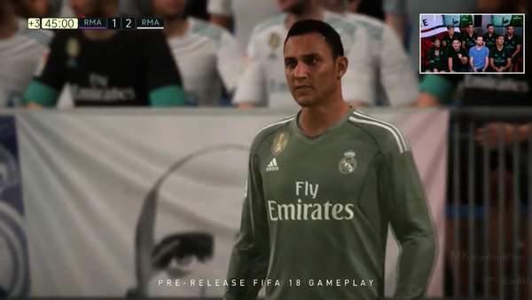 足球大作《FIFA 18》公布首批球员能力值 最高分才85