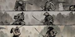 全新武士RPG新作《浪人传说》明年将发售 设计图欣赏
