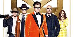 《王牌特工2:黄金圈》北美周五登顶票房超越前作!