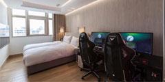 亚洲第一家电竞旅馆揭秘:GTX 1080Ti、4K电视是标配