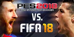 《FIFA18》与《实况足球2018》皇马/巴萨球员大对比