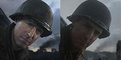 《使命召唤14:二战》正式版画面与宣传片画面对比