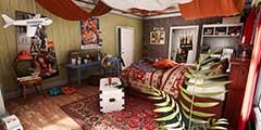 大神用虚幻4打造精美卧室 看起来乱糟糟却很温暖!