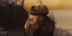 《上古卷轴5》独特新mod 星战机器人BB-8成贴身跟班