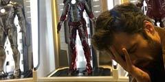 冬兵演员分享《复联4》片场照:钢铁侠基地捂脸忏悔