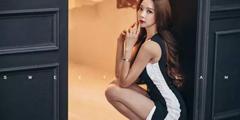 """韩国 """"千变女郎""""朴秀妍福利写真 黑丝美腿性感大姐姐"""