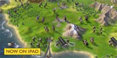 iPad版《文明6》正式公布 前60回合免费 不包含DLC!