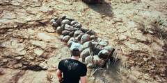 """是彩蛋还是致敬?""""吃鸡""""沙漠地图惊现金刚狼坟墓!"""