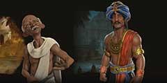 《文明6》印度势力公布 月护王白手起家打造强大帝国