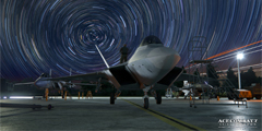 《皇牌空战7》新截图放出 落日下的Su-37美炸了!