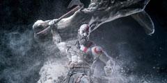 《战神4》可动手办细节惊人 奎爷雪地抡斧荷尔蒙爆表