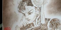 香港插画家沉迷日本经典ACG 手绘复古拼贴画引热议