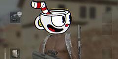 《绝地求生》茶杯头版趣味短片 国外玩家创意融合!