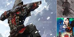 《刺客信条:叛变》重制版插画 主角冷酷风格超帅!