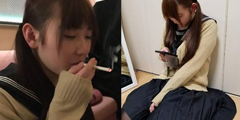 """日本高中女生因""""抽烟照""""走红 竟然又是女装大佬!"""