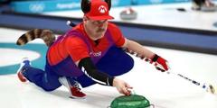 冬奥会美国冰壶选手长相酷似马里奥 惨遭国家队调侃