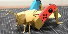 神人玩家自制Nintendo LABO外设 手工自制创意无限