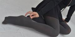 每日福利送不停 美少女就爱穿黑丝的美腿份外诱惑!