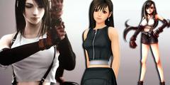 国外妹子cos《最终幻想7》蒂法 丰满上围性感诠释