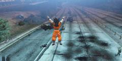 大神把《龙珠》搬进《GTA5》 超级赛亚人大搞破坏!