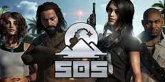 野外生存类游戏《SOS终极大逃杀》专题站上线