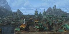 《魔兽》8.0联盟方新主城博拉鲁斯预览 港口城市曝光