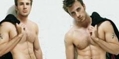 能摸一摸你们的八块腹肌吗?超级英雄肌肉男变身对比