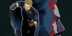 《复仇者联盟3》海量艺术宣传图 超级英雄大集结!