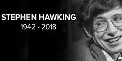 BBC确认《时间简史》作者史蒂芬霍金去世 享年76岁