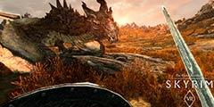 《上古卷轴5:天际》VR版将于4月3日登陆Steam平台