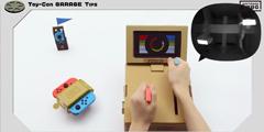 拥有无限玩法的纸盒子 任天堂Labo允许玩家自己编程