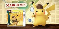 3DS《名侦探皮卡丘》预告 和皮卡丘一起去解开谜团!