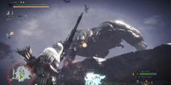 老猎人就是猛!《怪物猎人世界》弓箭刚射速杀恐暴龙