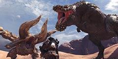 《怪物猎人世界》2.00更新预告片 恐暴龙霸气登场!