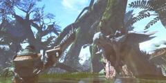 《怪物猎人世界》早期试验版本公开 居然是狩猎海龙!