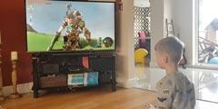 6岁小孩挑战《塞尔达:荒野之息》 3分钟击杀白银人马