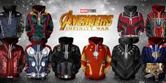《复仇者联盟3》主题卫衣发售 穿上秒变超级英雄!