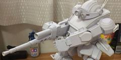 岛国中学生手工纸制装甲骑兵 精致度堪比模型大厂!