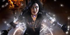 俄罗斯美女cos《巫师3》叶奈法 真的不是真人电影?