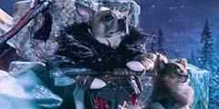 《战神4》最皮官方宣传片!他们把奎爷变成了一只狗