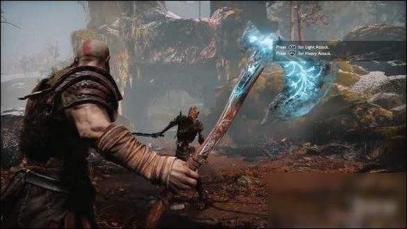 粉丝制作《战神4》奎爷战斧 武器上的星星还会发光