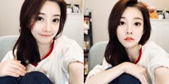 冯提莫微博晒自拍引网友围观 粉丝:今晚睡不着了!