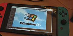 任天堂Switch漏洞已可运行Windows95 老任再遇危机