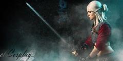 《巫师3》希里精美cos 德国小姐姐全副武装效果一流