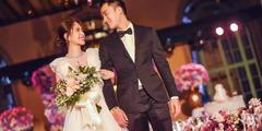 阿娇钟欣潼终于嫁了!身穿白色低胸婚纱艳光四射!
