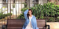 修长美腿令人无法自拔!台湾美女模特性感福利写真赏